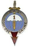 Le 1er RPIMa est un régiment parachutiste des forces spéciales de l'armée française intégré à la Brigade des forces spéciales terre (BFST). 100px-Insigne_r%C3%A9gimentaire_du_1%C2%B0_RPIMa