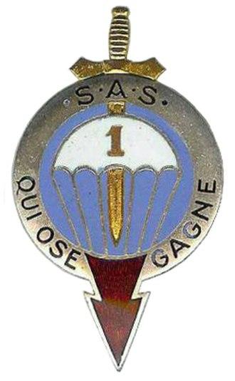 1st Marine Infantry Parachute Regiment - Regimental insignia