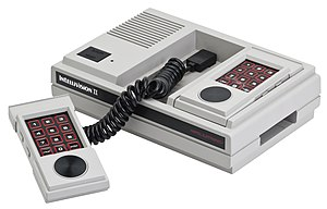 Intellivision - The Intellivision II redesign was much smaller and cheaper to manufacture than the original.