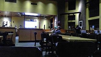 Pei Wei Asian Diner - Interior of a Pei Wei Asian Diner in Gainesville, Virginia