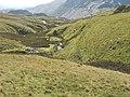 Interlocking spurs in the Afon Barlwyd valley - geograph.org.uk - 731812.jpg