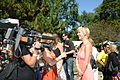 Interview at Norman Jewison's annual Canadian Film Centre BBQ 2013 -a.jpg