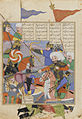 Iran, Battle Between Kay Khusraw and Afrasiyab, by Salik b. Sa'id, 1493-1494 AD.jpg