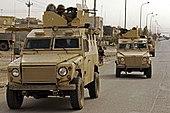Iraqi Patrol in Mosul, Iraq.jpg