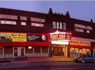 State Street (Salt Lake County) - The NRHP listed Iris Theater is along State Street in Murray