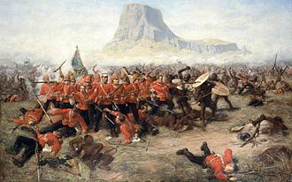 Colonialism - The Battle of Isandlwana during the Anglo-Zulu War of 1879