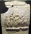 Iscrizione di dedica della biblioteca di tito flavio pantaino ad atene, 100 dc ca (MAN Atene).JPG