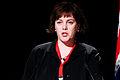 Islands miljominister Svandis Svavarsdottir vid Nordiska Radets session pa Island 2010-11-04.jpg