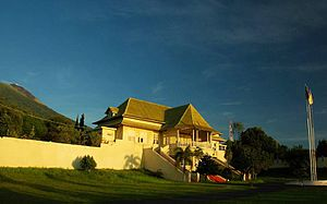 Ternate City - Image: Istana sultan ternate
