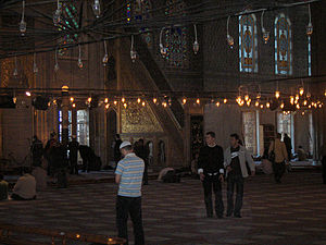 Sultan Ahmed mosque (Blue mosque); Istanbul, T...