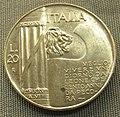 Italia, 20 lire di vittorio emanuele III, 1928.JPG