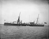 Italian torpedo cruiser Partenope 1895 IWM Q 22392.jpg