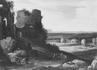 Italienate Landscape with Ruins