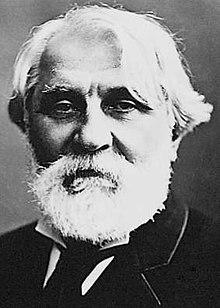 Ivan Turgenev, photo by Félix Nadar (1820-1910)