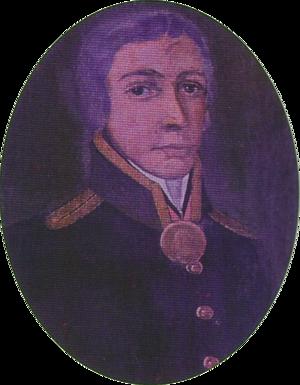 Ivan Kuskov - A portrait of Ivan Kuskov from the Totma Regional Museum