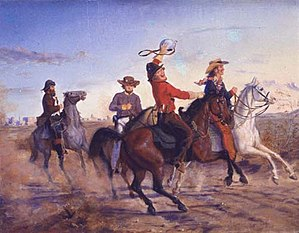 Carl G. von Iwonski - Samuel Maverick Jr with  Terry's Texas Rangers