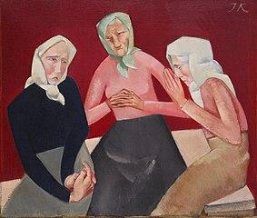 Three Old Ladies