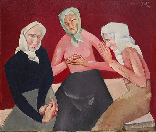 Jēkabs Kazaks - Three Old Ladies - Google Art Project.jpg