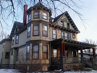 National Register of Historic Places listings in Chisago County, Minnesota - Image: J.C. Carlson House