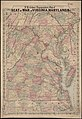 J.H. Coltons Topographical map of seat of war in Virginia, Maryland, &c. (5961391040).jpg