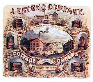 Estey Organ United States historic place