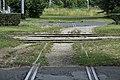 J32 865 ulica Grada Vukovara, Anschlussbahnkreuzung.jpg