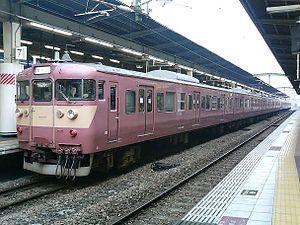 415 series - Image: JR Kyushu EMU415 F5
