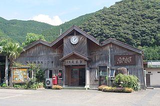 Tosa-Taishō Station Railway station in Shimanto, Kōchi Prefecture, Japan