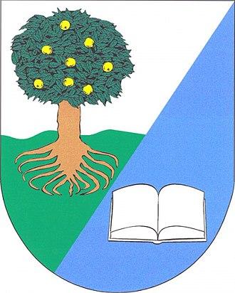 Jabloňany - Image: Jablonany znak