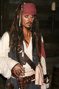 Jack Sparrow - Johnny Depp (Madame Tussauds).JPG
