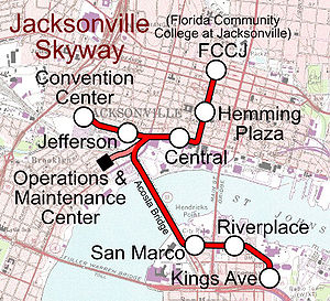Jacksonville Skyway Wikipedia
