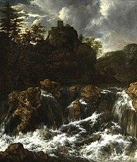 Jacob van Ruisdael - Landscape with Waterfall CAM CCF 0063.jpg