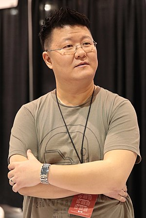Jae Lee - Lee at the 2017 Phoenix Comicon