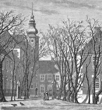 Hornsherred - Old print of Jægerspris Castle
