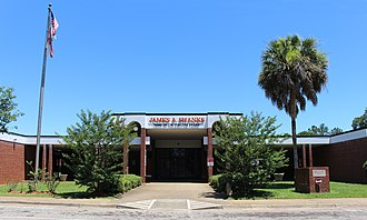 Quincy, Florida - James A. Shanks Middle School (formerly James A. Shanks High School)