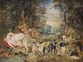 Jan Breughel (I) Satyrn belauschen die schlafenden Nymphen der Diana.jpg