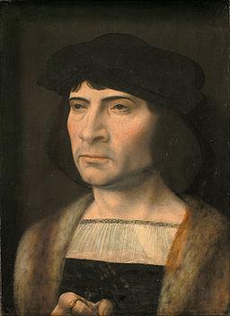 Jan Gossaert (Mabuse) - Portrait of a Man - Google Art Project