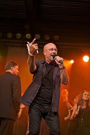 Jan Groth - Groth performing in 2011