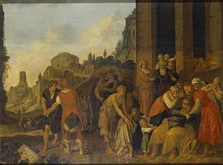 Jacob's Sons Show Him Joseph's Blood-Stained Robe