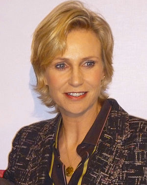 Replaceable You - Jane Lynch guest starred in the episode as Roz.