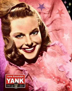 Yank, the Army Weekly - Jane Randolph for the debut June 17, 1942 issue.