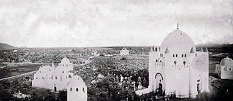 Al-Baqi' - Image: Jannatul Baqi before Demolition