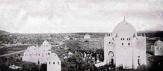 Al-Baqi' - Al-Baqi before the demolition