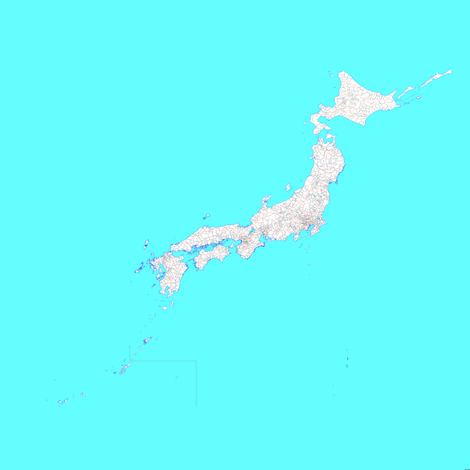 Japan Municipality Map