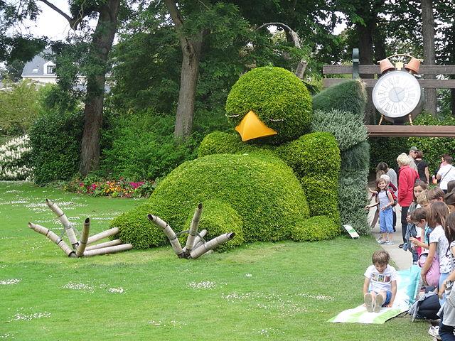 Jardin des Plantes Sehenswürdigkeit in Nantes, Frankreich ...