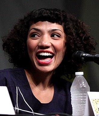 Jasika Nicole - Jasika Nicole at the San Diego Comic-Con International in July 2012.