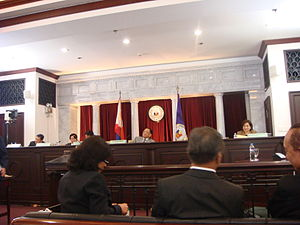Judicial and Bar Council - The JBC members in the Chief Justice of the Supreme Court of the Philippines Panel Interview