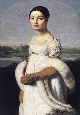 Jean Auguste Dominique Ingres - Mademoiselle Caroline Rivière - WGA11837