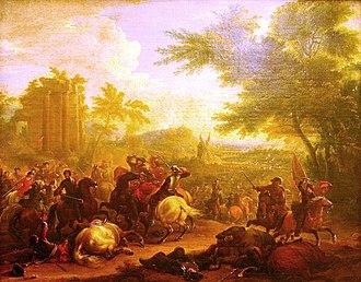 Battle of Cassano (1705) - Image: Jean Baptiste Martin Schlacht bei Cassano 1705