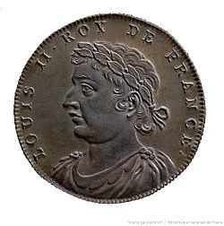 Jean Dassier - Louis II. roy de France.jpg